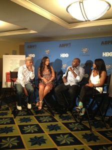 Morris Chestnut Telling us all about his co-stars