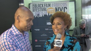 Jenifer Lewis with Reggie Ponder