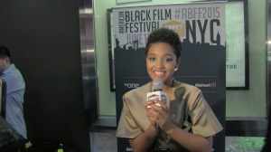 Kiersey Clemons at 2015 ABFF