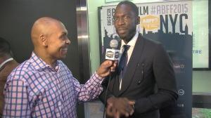 Rick Famuyiwa 2015 ABFF with Reggie Ponder