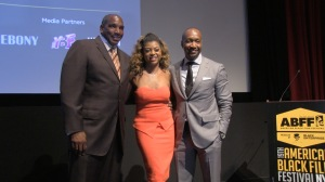 Taraji P Henson with Jeff Friday and Butch Graves